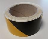 Warnband linksweisend 25 m - Gelb