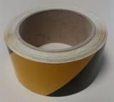 Warnband rechtsweisend 25 m - Gelb