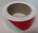 Warnband linksweisend 25 m - Rot