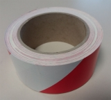 Warnband rechtsweisend 25 m - Rot